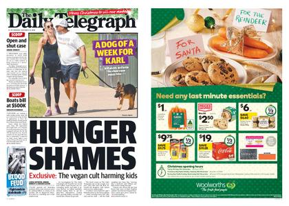The Daily Telegraph (Sydney) – December 24, 2018