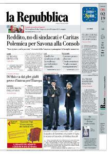 la Repubblica - 6 Febbraio 2019