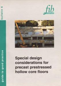FIB 6: Special design considerations for precast prestress
