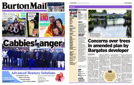 Burton Mail – January 16, 2019