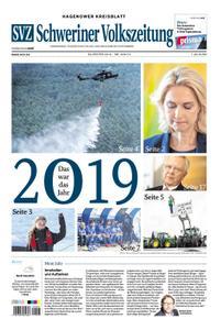Schweriner Volkszeitung Hagenower Kreisblatt - 31. Dezember 2019