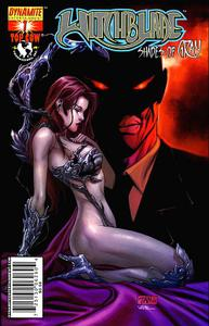 COMIC: Witchblade - Shades of Gray 01 - 2007 Plus 5 Cover Variants