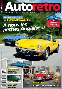 Autoretro France - Juillet-Août 2021