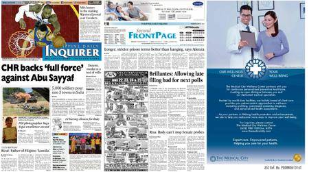 Philippine Daily Inquirer – June 20, 2016