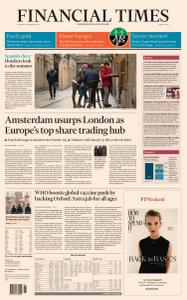 Financial Times Middle East - 11 February 2021