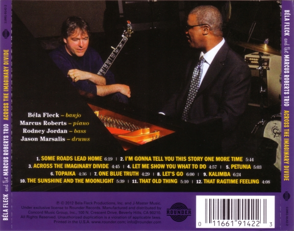Bela Fleck & Marcus Roberts - Across The Imaginary Divide (2012)
