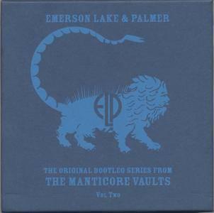 Emerson, Lake & Palmer - The Original Bootleg Series from The Manticore Vaults Vol. 2 Set 2 (2001) {2CD Castle Music rec 1974}
