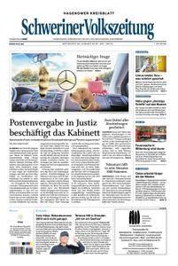 Schweriner Volkszeitung Hagenower Kreisblatt - 22. August 2018