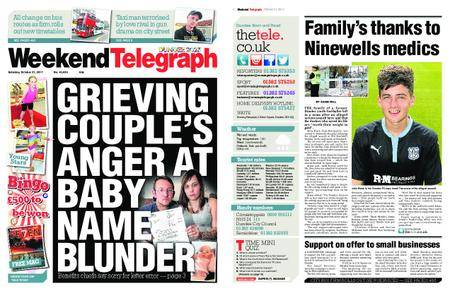 Evening Telegraph First Edition – October 21, 2017