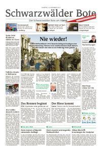 Schwarzwälder Bote Hechingen - 10. November 2018