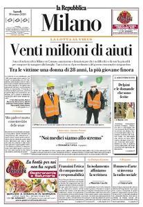 la Repubblica Milano - 30 Marzo 2020