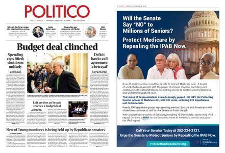 Politico – February 08, 2018