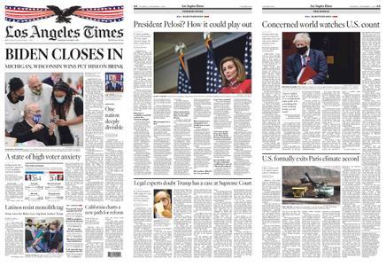 Los Angeles Times – November 05, 2020
