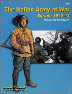 The Italian Army at War. Europe 1940-43