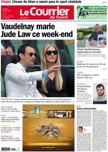 Le Courrier de l'Ouest Cholet – 25 mai 2019