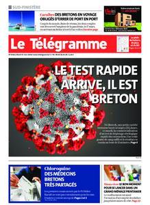 Le Télégramme Concarneau – 31 mars 2020