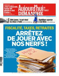 Aujourd'hui en France du Dimanche 24 Mars 2019