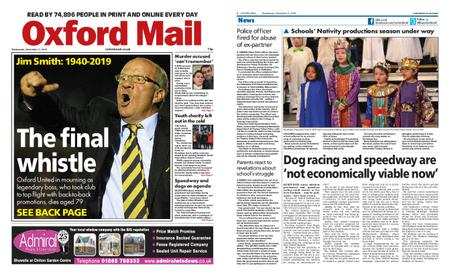 Oxford Mail – December 11, 2019