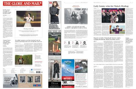 The Globe and Mail – September 23, 2019