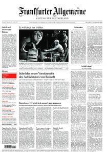 Frankfurter Allgemeine Zeitung F.A.Z. - 30. September 2017