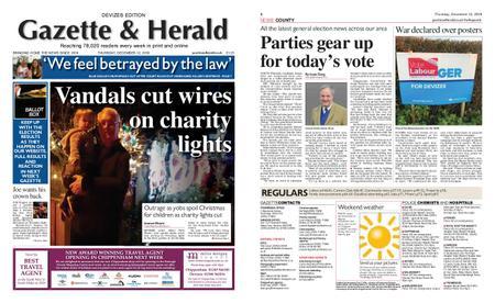 Gazette & Herald – December 12, 2019