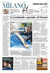 Corriere della Sera Milano - 25 Ottobre 2017