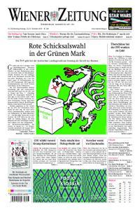 Wiener Zeitung – 23. November 2019