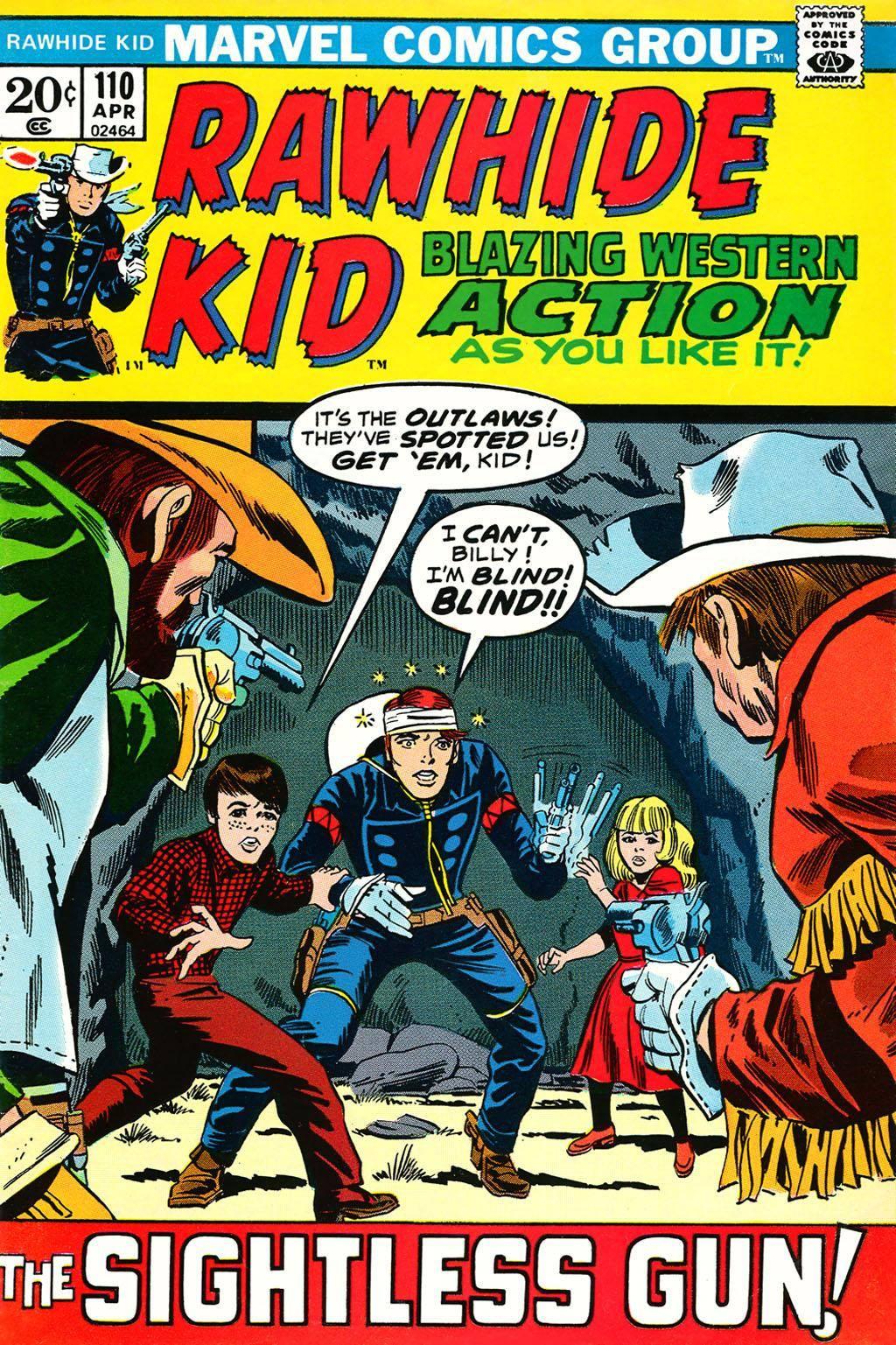 Rawhide Kid v1 110 1973 brigus