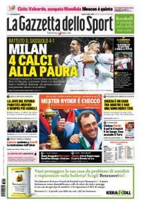 La Gazzetta dello Sport Roma – 01 ottobre 2018