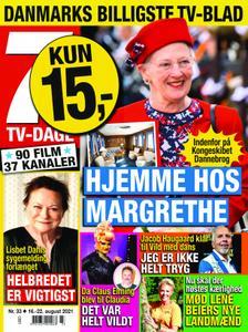 7 TV-Dage – 16. august 2021