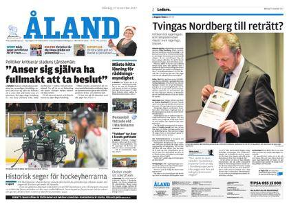 Ålandstidningen – 27 november 2017