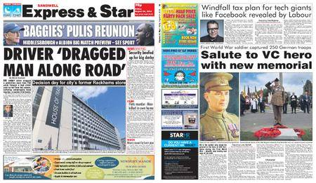 Express and Star Sandwell Edition – August 24, 2018