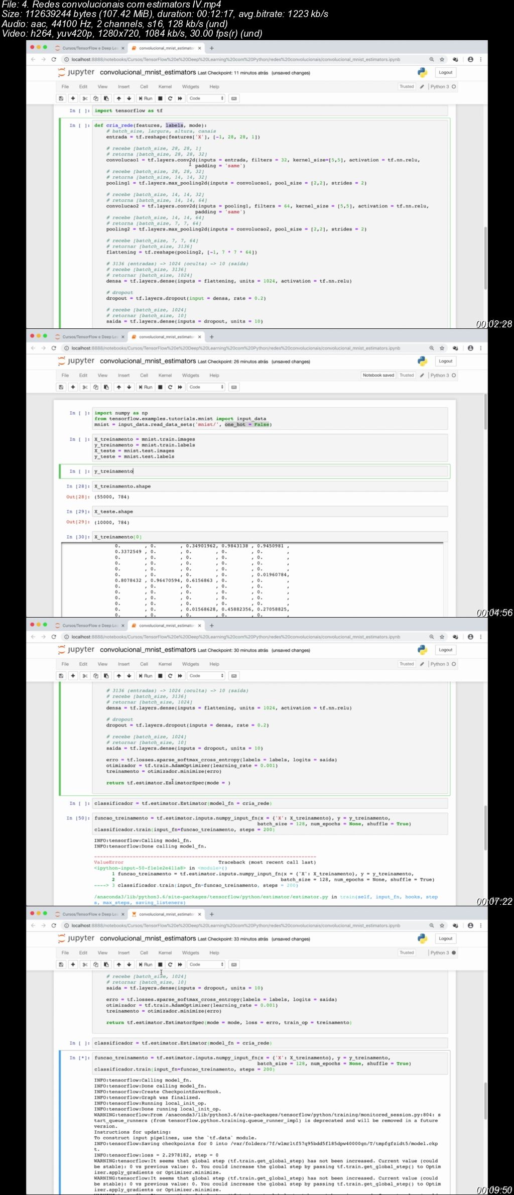 TensorFlow: Machine Learning e Deep Learning com Python