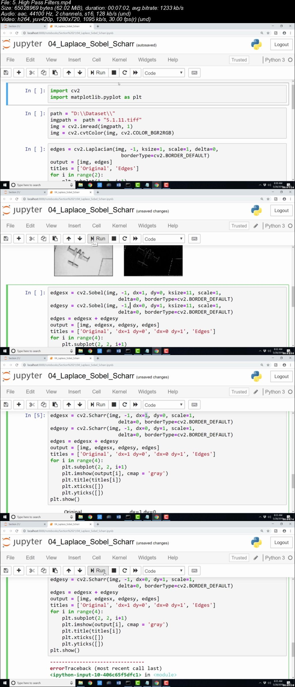 Complete Python OpenCV Computer Vision Masterclass (Updated