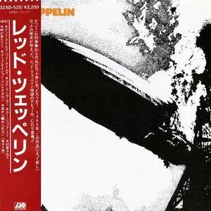 Led Zeppelin - Led Zeppelin (1969) [32XD-520, Japan 1st Press, 1986]
