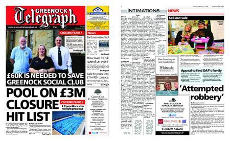 Greenock Telegraph – February 12, 2019