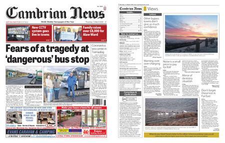 Cambrian News Arfon & Dwyfor – 13 March 2020