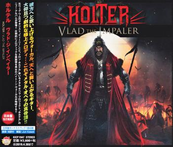 Holter - Vlad The Impaler (2018) [Japanese Ed.]