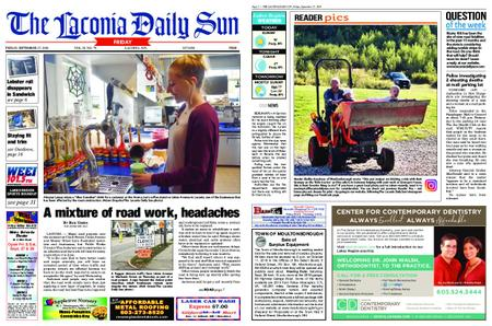 The Laconia Daily Sun – September 27, 2019