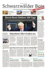 Schwarzwälder Bote Blumberg - 24. Juli 2019
