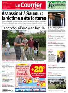 Le Courrier de l'Ouest Angers – 09 septembre 2020