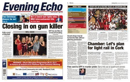 Evening Echo – December 18, 2017