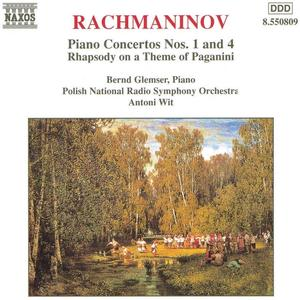 Bernd Glemser, Antoni Wit - Rachmaninov: Piano Concertos Nos. 1 & 4, Rhapsody on a Theme of Paganini (1998)