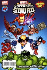 Marvel Super Hero Squad - Hero Up 01 2009 2 covers GreenGiant-DCP