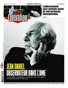 Libération - 21 février 2020