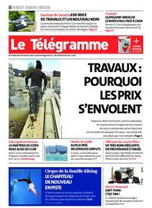 Le Télégramme Brest Abers Iroise – 23 février 2021