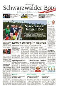 Schwarzwälder Bote Oberndorf - 21. Juli 2018