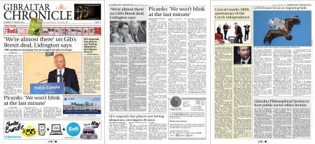 Gibraltar Chronicle – 06 October 2018