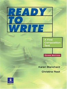 Ready to Write:  A First Composition Text, Third Edition (Repost)