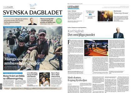 Svenska Dagbladet – 15 maj 2018